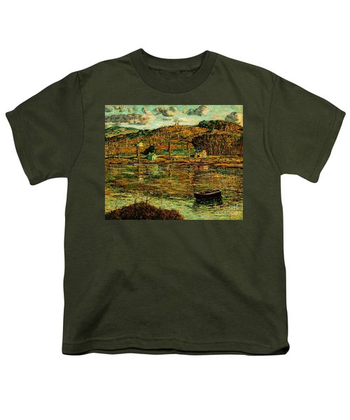 Sunlight On The Harlem River 1919 Youth T-Shirt