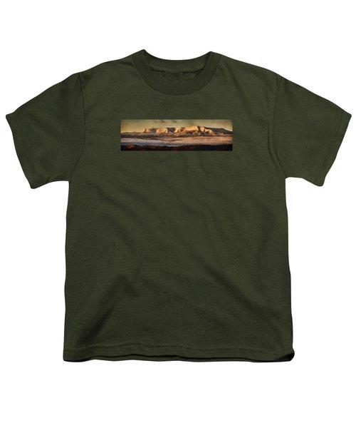 Sunrise Glow Pano Pnt Youth T-Shirt