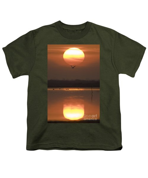 Sunrise Reflection Youth T-Shirt