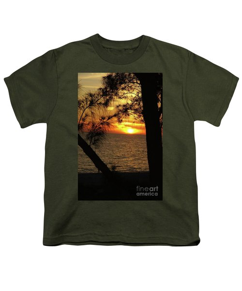 Sunset 1 Youth T-Shirt by Megan Cohen