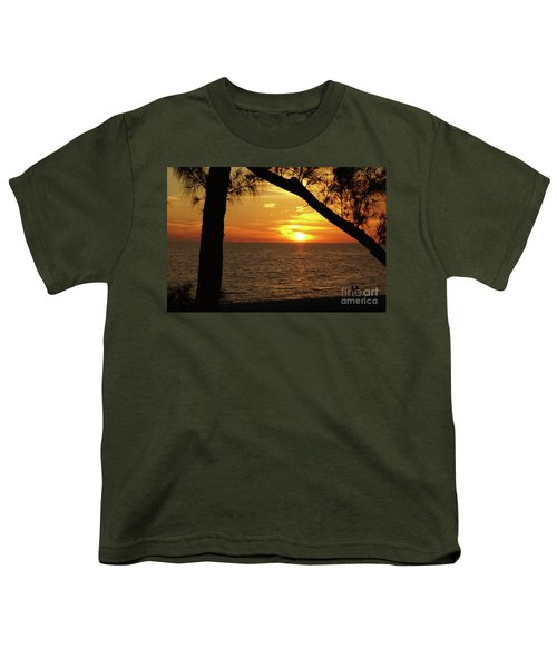 Sunset 2 Youth T-Shirt by Megan Cohen