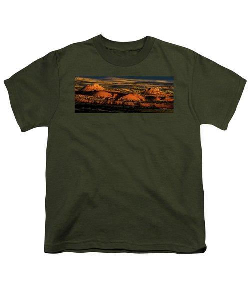 Sunset At Donkey Flats Youth T-Shirt