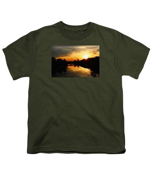 Sunset Bliss Youth T-Shirt by Robert Carey