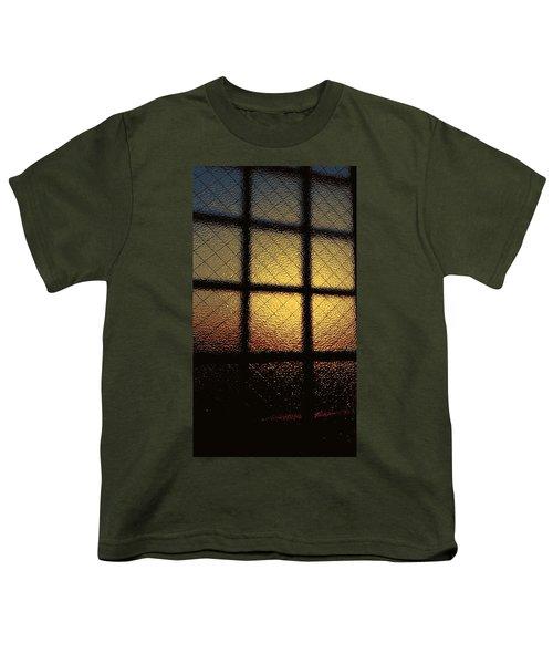 Sunset Orange Youth T-Shirt
