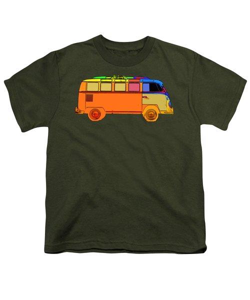 Surfer Van Transparent Youth T-Shirt