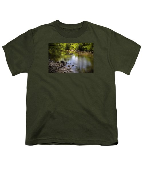 Youth T-Shirt featuring the photograph The Devon River by Jeremy Lavender Photography