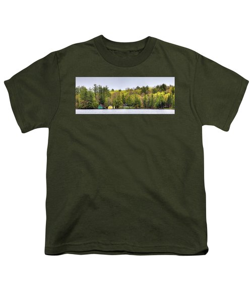 The Early Greens Of Spring Youth T-Shirt by David Patterson
