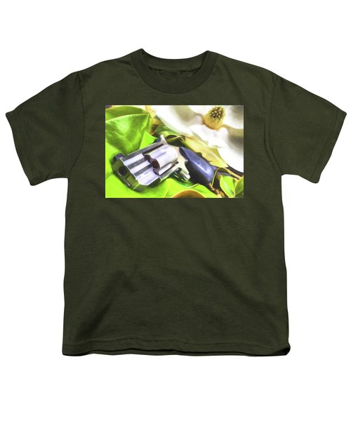 Youth T-Shirt featuring the photograph The Southern Debutante  by JC Findley