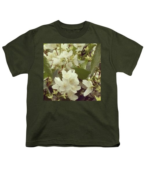 The Summer Smells Like A Mock Orange Youth T-Shirt by Arletta Cwalina