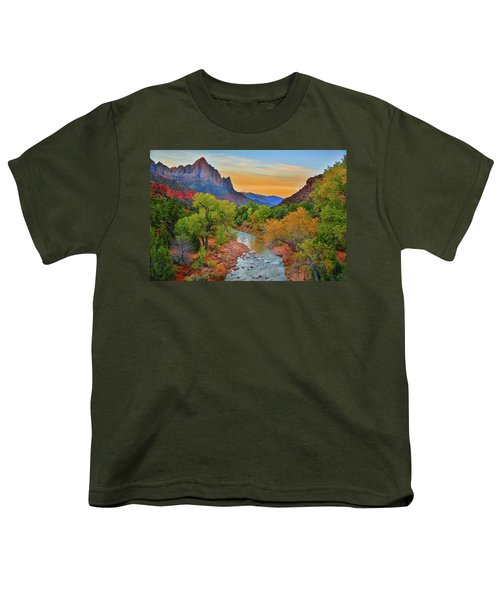 The Watchman And The Virgin River Youth T-Shirt