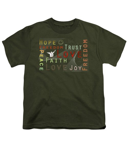 Think Positive Youth T-Shirt