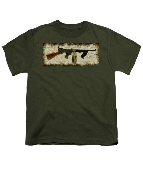 Thompson Submachine Gun 1921 Youth T-Shirt