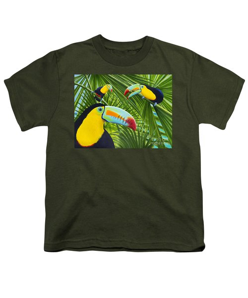 Toucan Threesome Youth T-Shirt