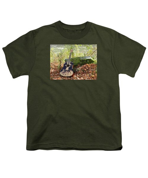 Traveling Musician Youth T-Shirt