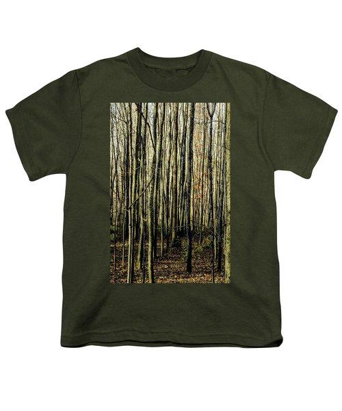 Treez Yellow Youth T-Shirt