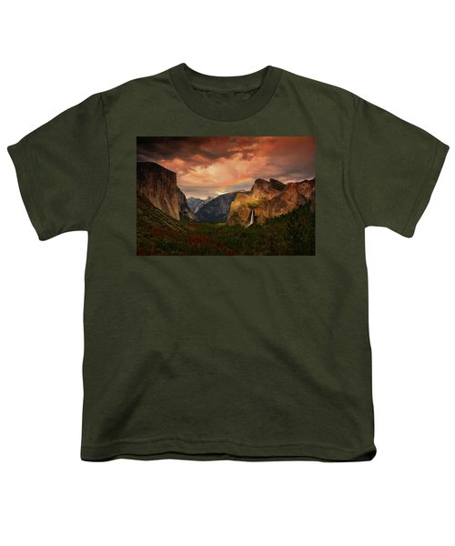 Tunnel View Rainbow Youth T-Shirt
