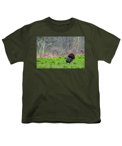 Youth T-Shirt featuring the photograph Turkey And Cabbage by Bill Wakeley