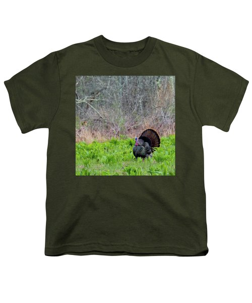 Youth T-Shirt featuring the photograph Turkey And Cabbage Square by Bill Wakeley