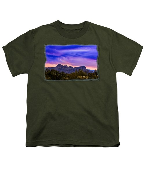 Twin Peaks H30 Youth T-Shirt by Mark Myhaver