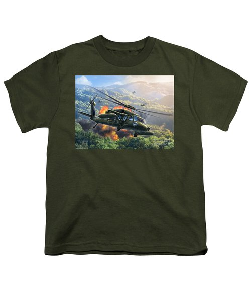 Uh-60 Blackhawk Youth T-Shirt
