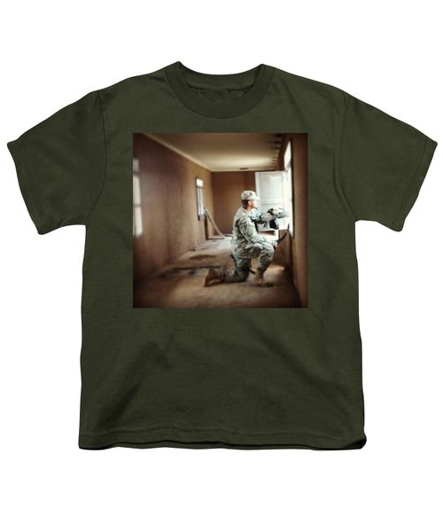 Urban Ops Exercise. #military #police Youth T-Shirt