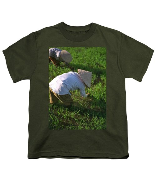 Vietnam Paddy Fields Youth T-Shirt
