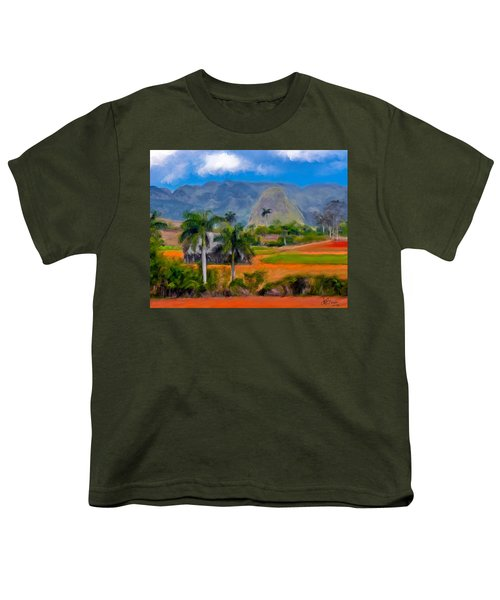 Vinales Valley. Cuba Youth T-Shirt