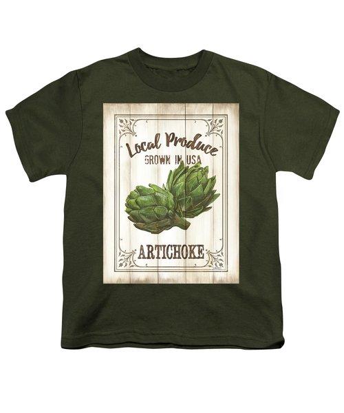 Vintage Fresh Vegetables 2 Youth T-Shirt
