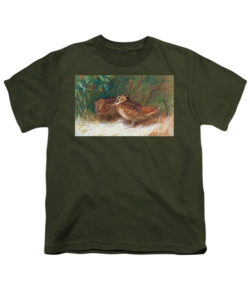 Woodcock In The Undergrowth Youth T-Shirt