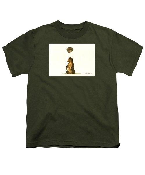 Woodland Letter I Youth T-Shirt