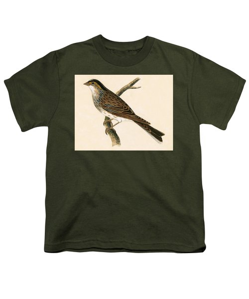 Yellow Browed Bunting Youth T-Shirt