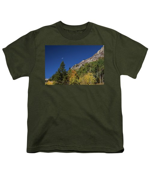 Youth T-Shirt featuring the photograph Autumn Bella Luna by James BO Insogna