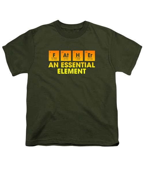 Dad An Essential Element Father's Day Periodic Table Tshirt T-shirt Youth T-Shirt