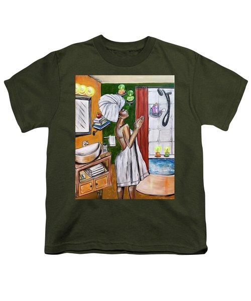Her Prayer Youth T-Shirt