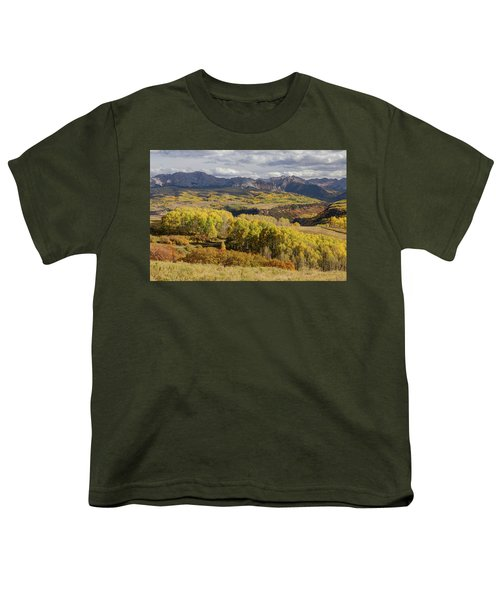 Youth T-Shirt featuring the photograph Last Dollar Road by James BO Insogna