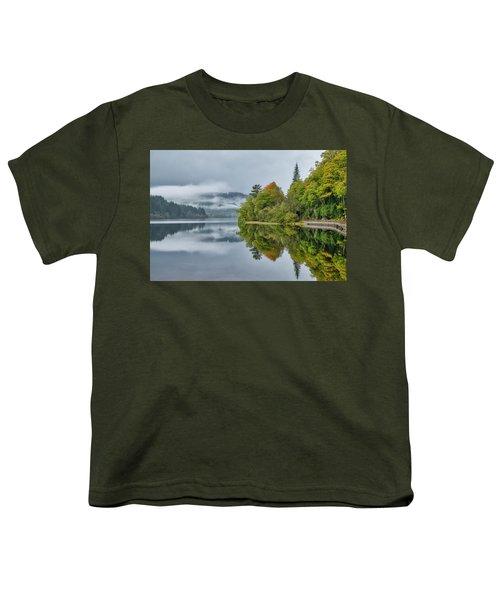 Loch Ard In Scotland Youth T-Shirt
