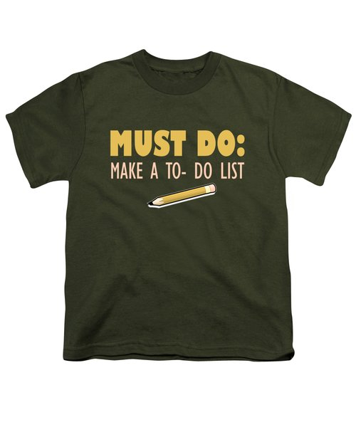 Must Do Youth T-Shirt