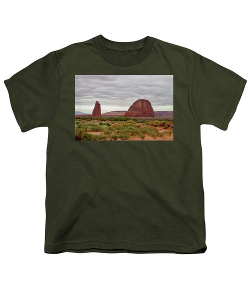 Youth T-Shirt featuring the photograph Round Rock by James BO Insogna