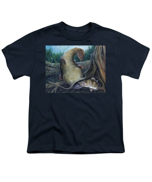 Top Dog Youth T-Shirt by Catfish Lawrence
