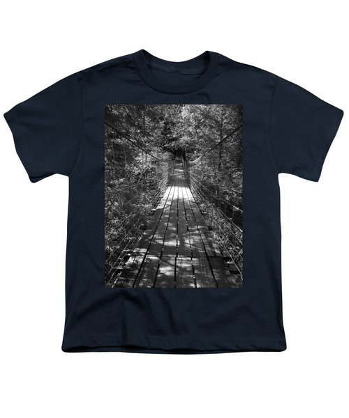 Walk Through Woods Youth T-Shirt