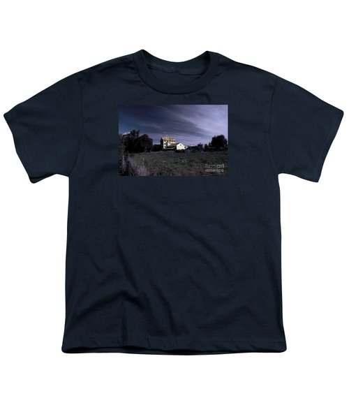 Youth T-Shirt featuring the photograph Blue Night by Nareeta Martin