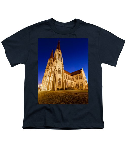 Morning At The Cathedral Of St Helena Youth T-Shirt