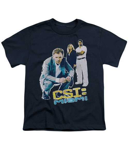 Csi:miami - In Perspective Youth T-Shirt