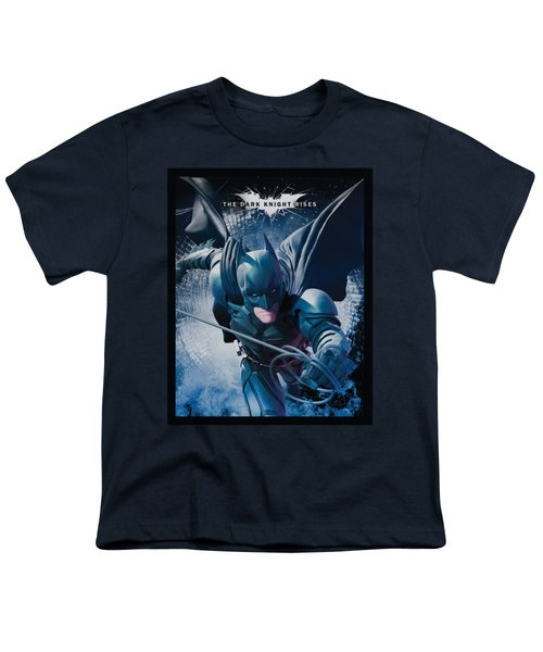 Dark Knight Rises - Swing Into Action Youth T-Shirt