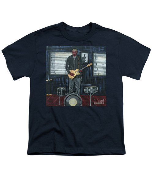 Drums And Wires Youth T-Shirt by Sandra Marie Adams