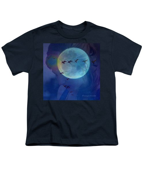 Edit To The Poem Oh Moon Youth T-Shirt
