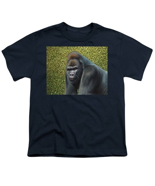 Gorilla With A Hedge Youth T-Shirt