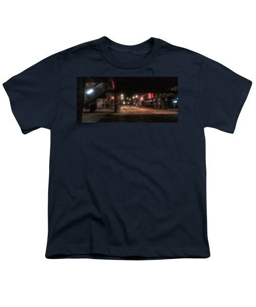 Looking East From Wabash Youth T-Shirt by Nick Heap