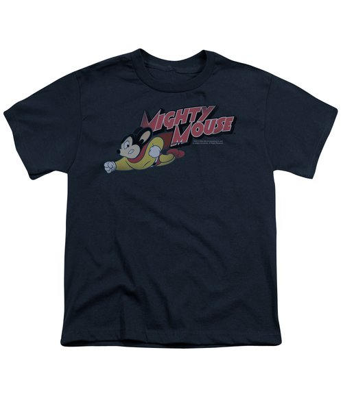 Mighty Mouse - Mighty Retro Youth T-Shirt by Brand A