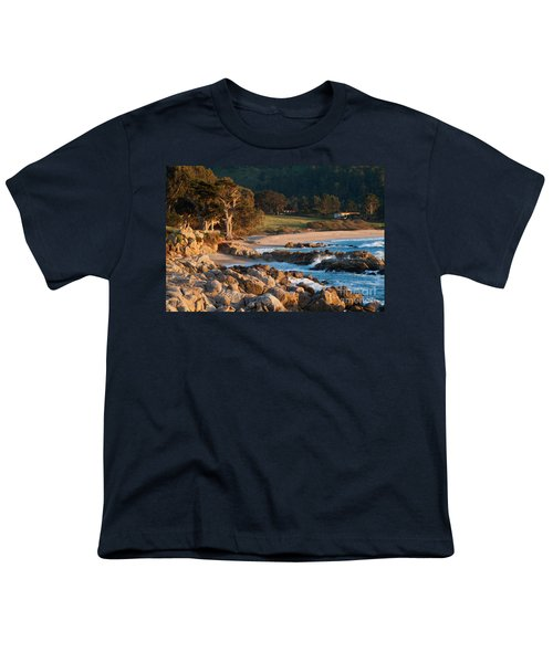 Monastery Beach In Carmel California Youth T-Shirt